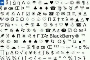 Kumpulan Autotext Blackberry
